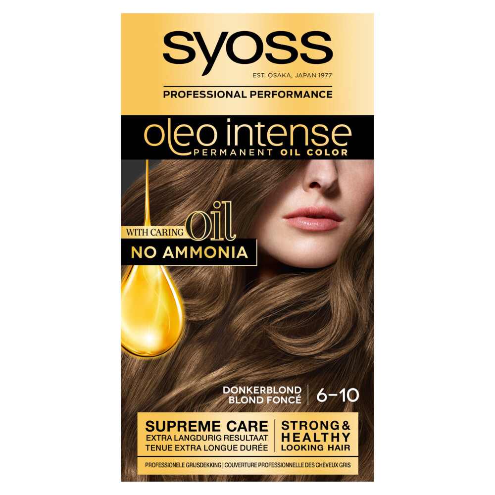 Syoss Color Oleo 6.10 Donker Blond Stuk