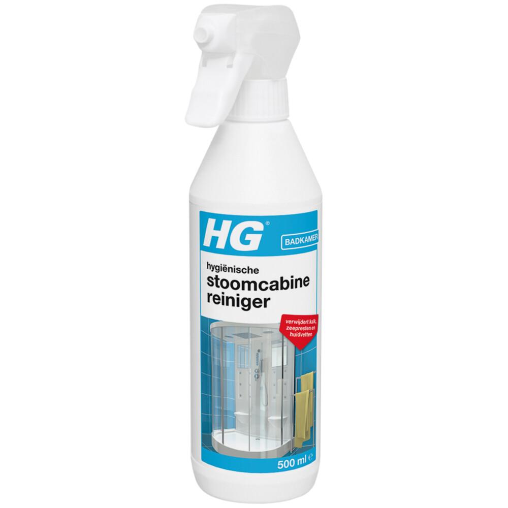 Hg Hyg.stoomcabine Reiniger 500ml 500ml