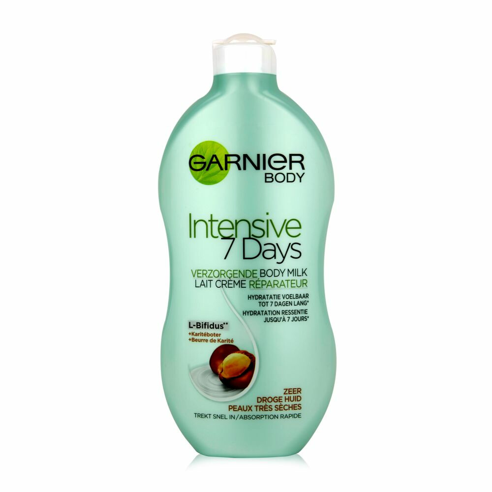 Garnier Intensive Bodylotion 7d Kariteboter 400ml