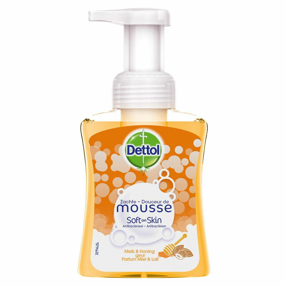 Dettol Foam Honey + Milk 250ml