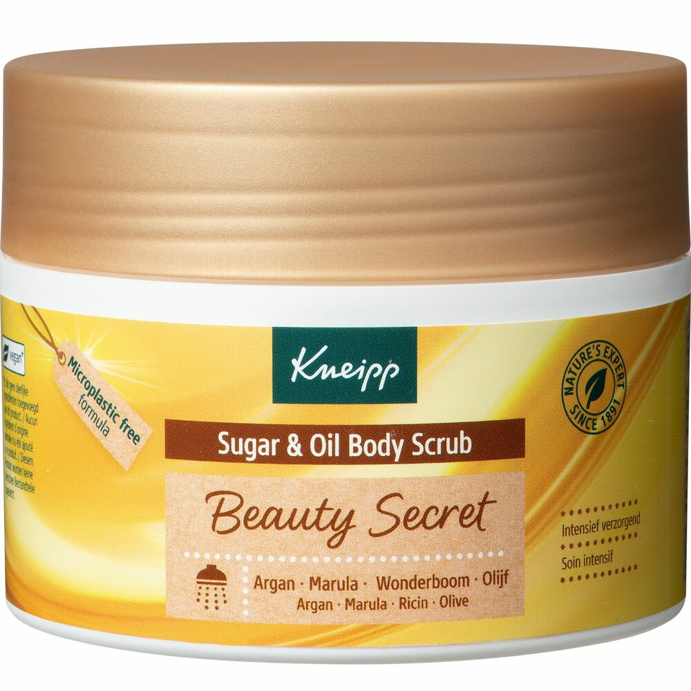 Kneipp Sugar And Oil Bodyscrub Beauty Geheim 220gr