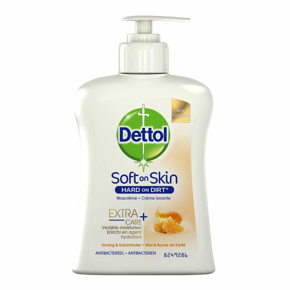 Dettol Handzeep Pomp Extra Care Honey 250ml