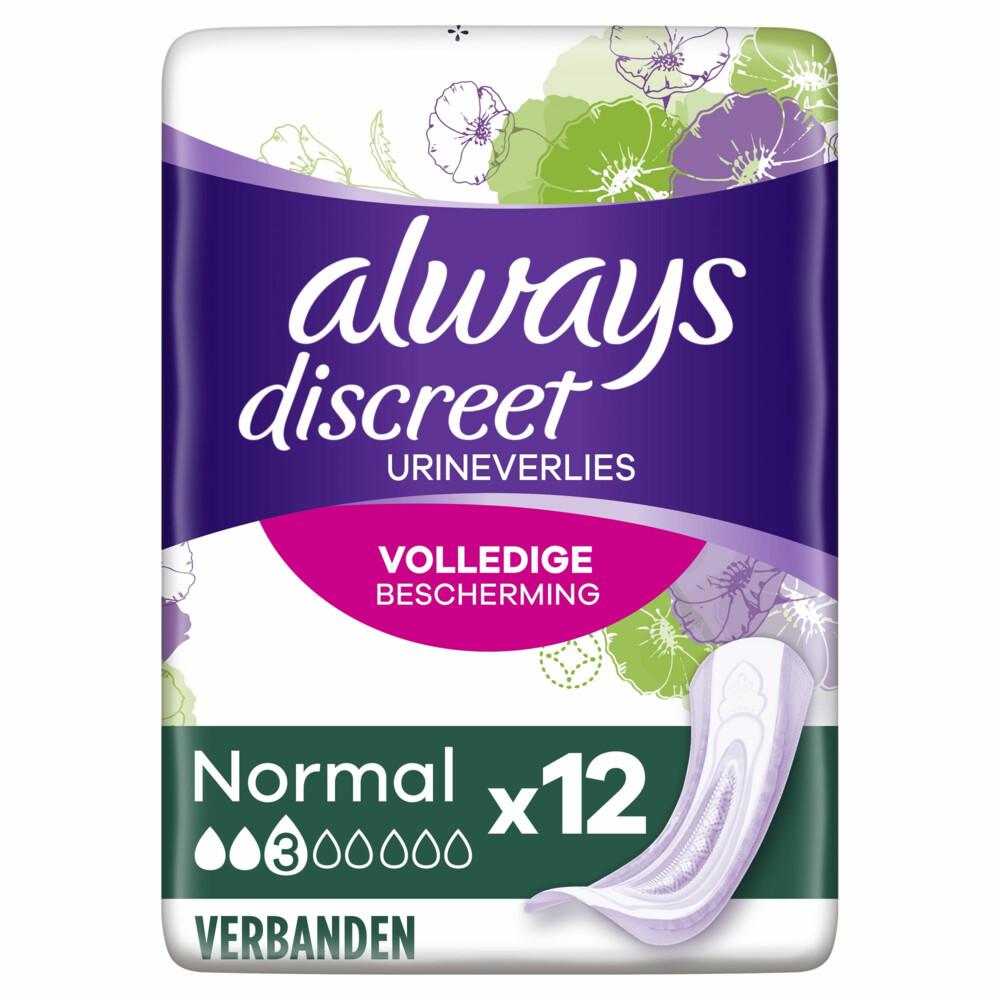 Always Discreet Normal Maandverband 12 stuks