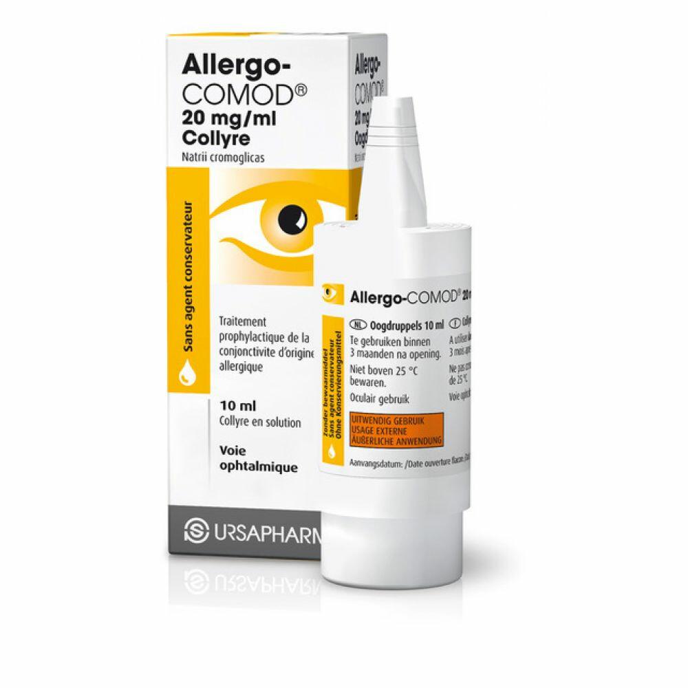 Allergo COMOD Oogdruppels 10 ml
