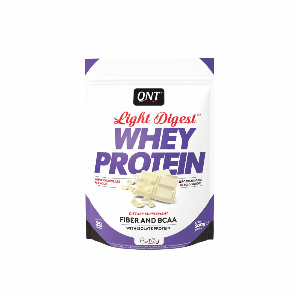 QNT Light Digest Whey Protein White Choclate 500 gr