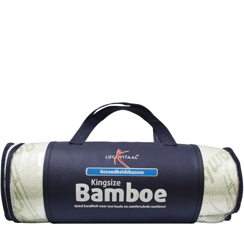 Lucovitaal Kingsize bamboe kussen 1st