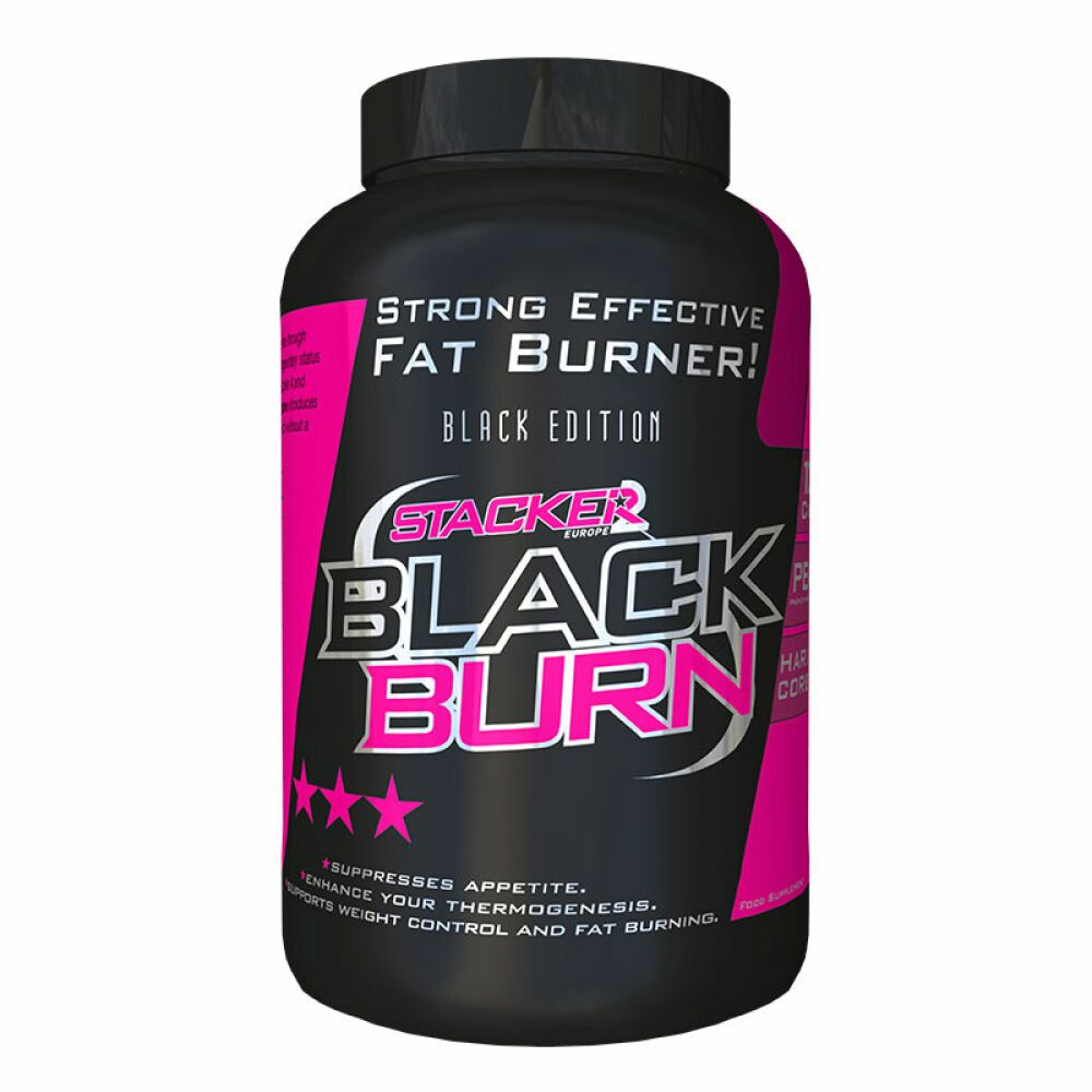 Stacker 2 Ephedra Vrij Black Burn Fatburner 120caps