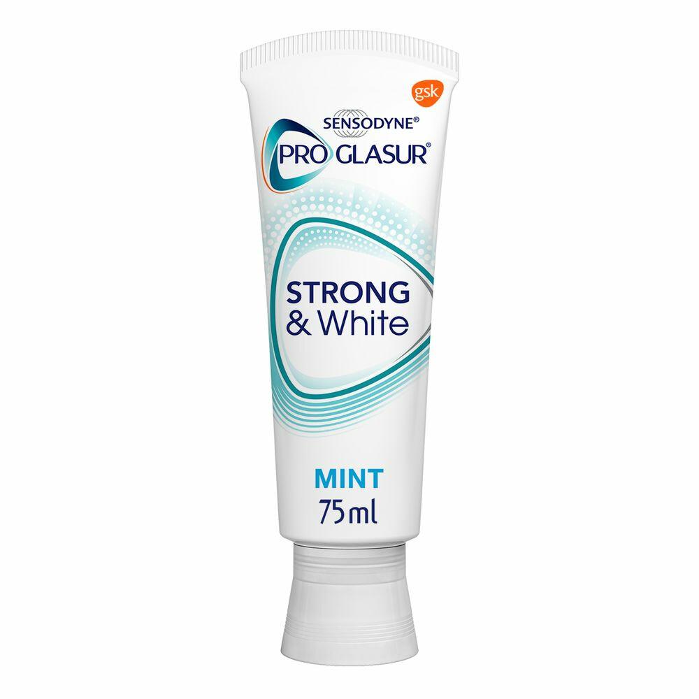 Sensodyne Tandpasta proglasur strong & white 75ml