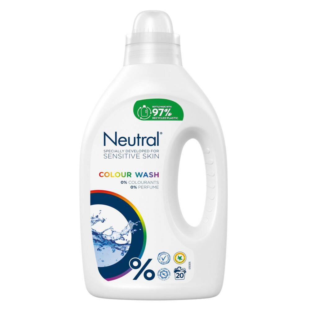 3x Neutral Vloeibaar Wasmiddel Kleur 1000 ml