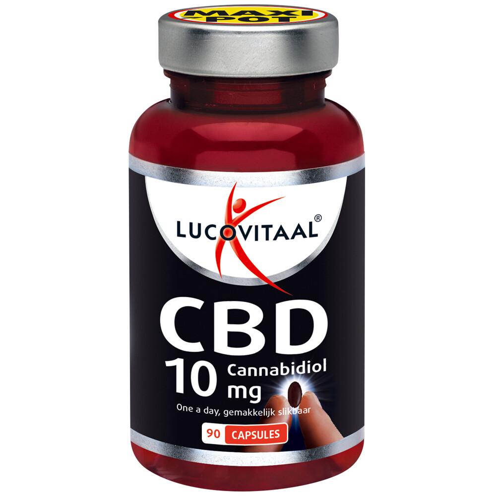 3x Lucovitaal CBD Cannabidiol 10 mg 90 capsules