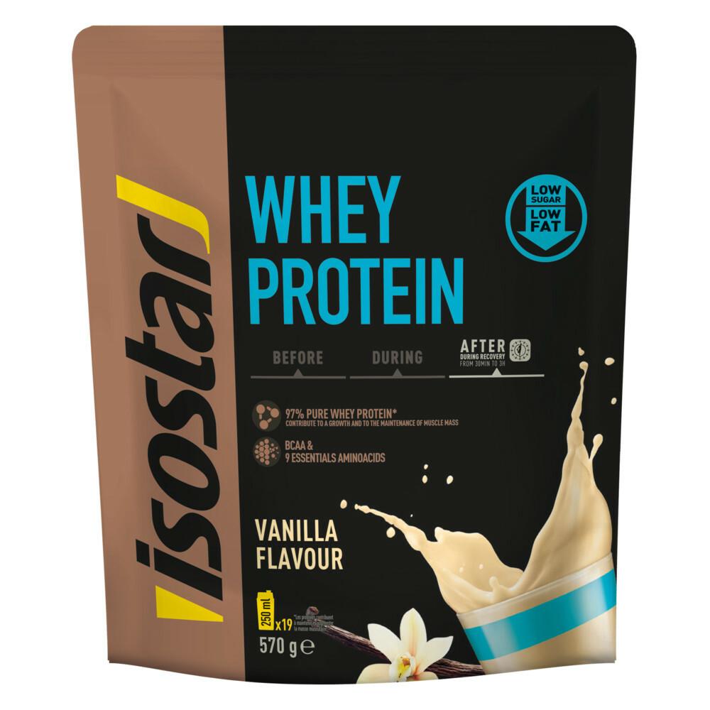 Isostar Powerplay Whey Protein Vanilla 1 zak 570 gram