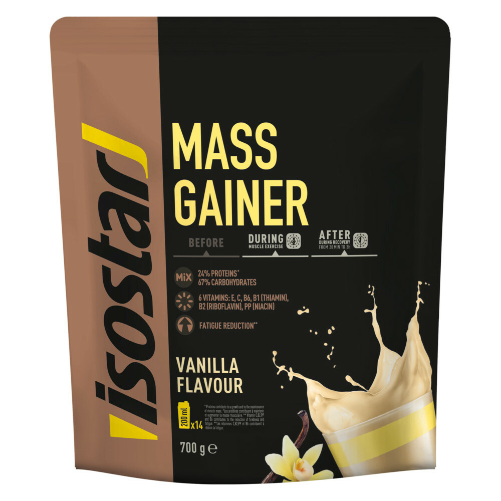 Isostar Mass Gainer Vanille 700 gr