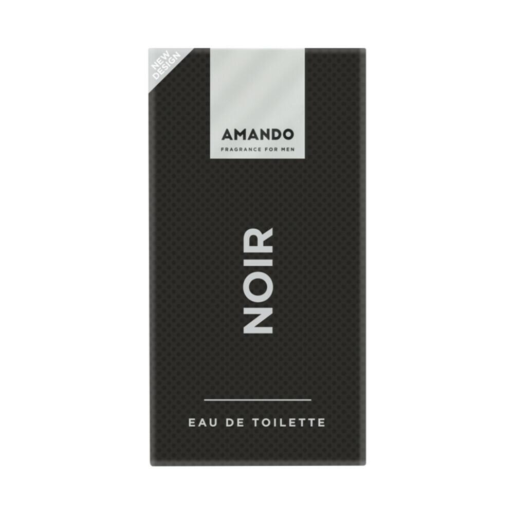 Productafbeelding van 6x Amando Noir Eau de Toilette 50 ml