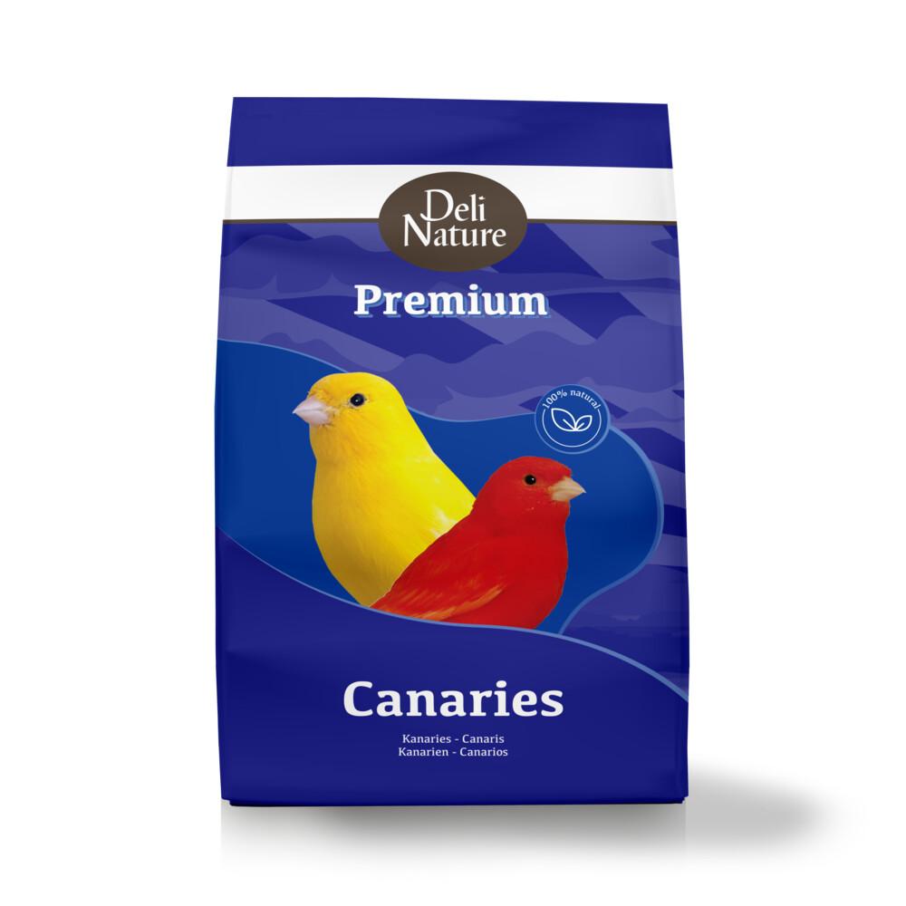 Deli nature premium kanarie 4 kgde zadenmengeling van deli nature voor kanaries speciaal gemaakt voor ...