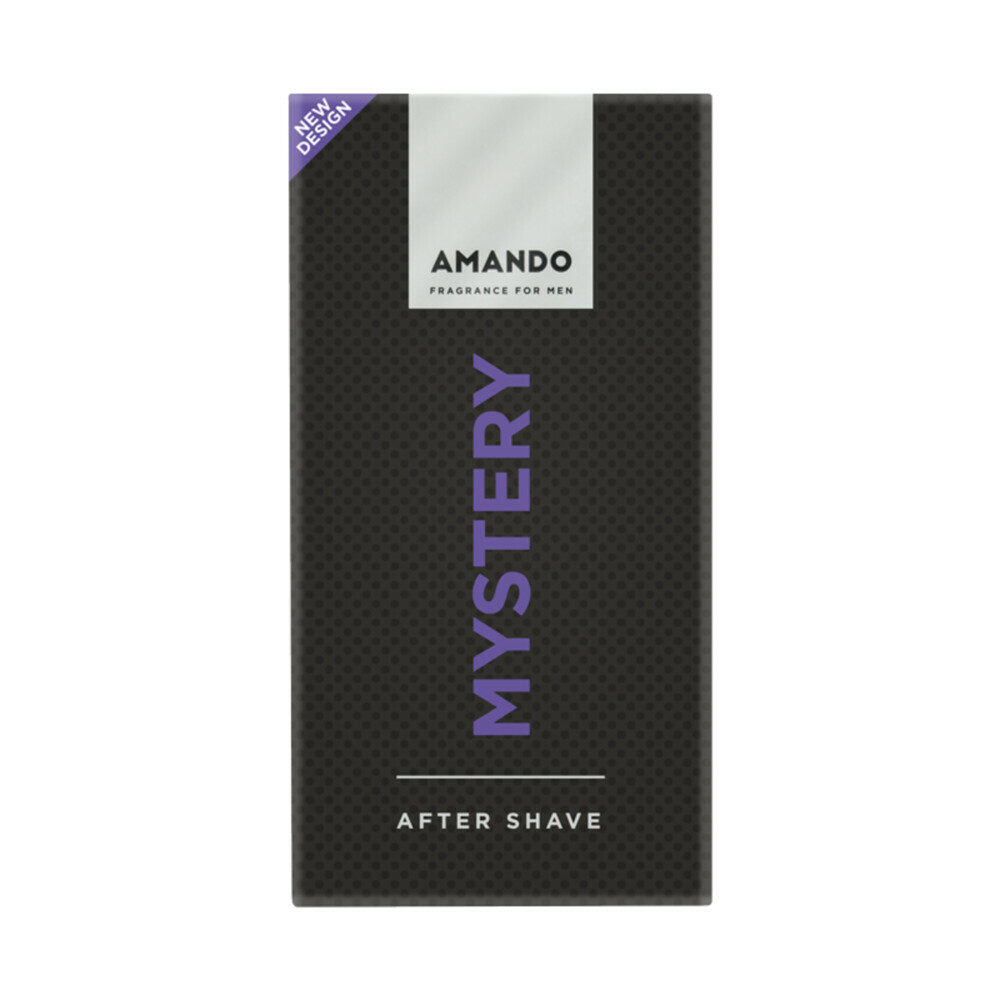 Productafbeelding van 6x Amando Mystery Aftershave 50 ml