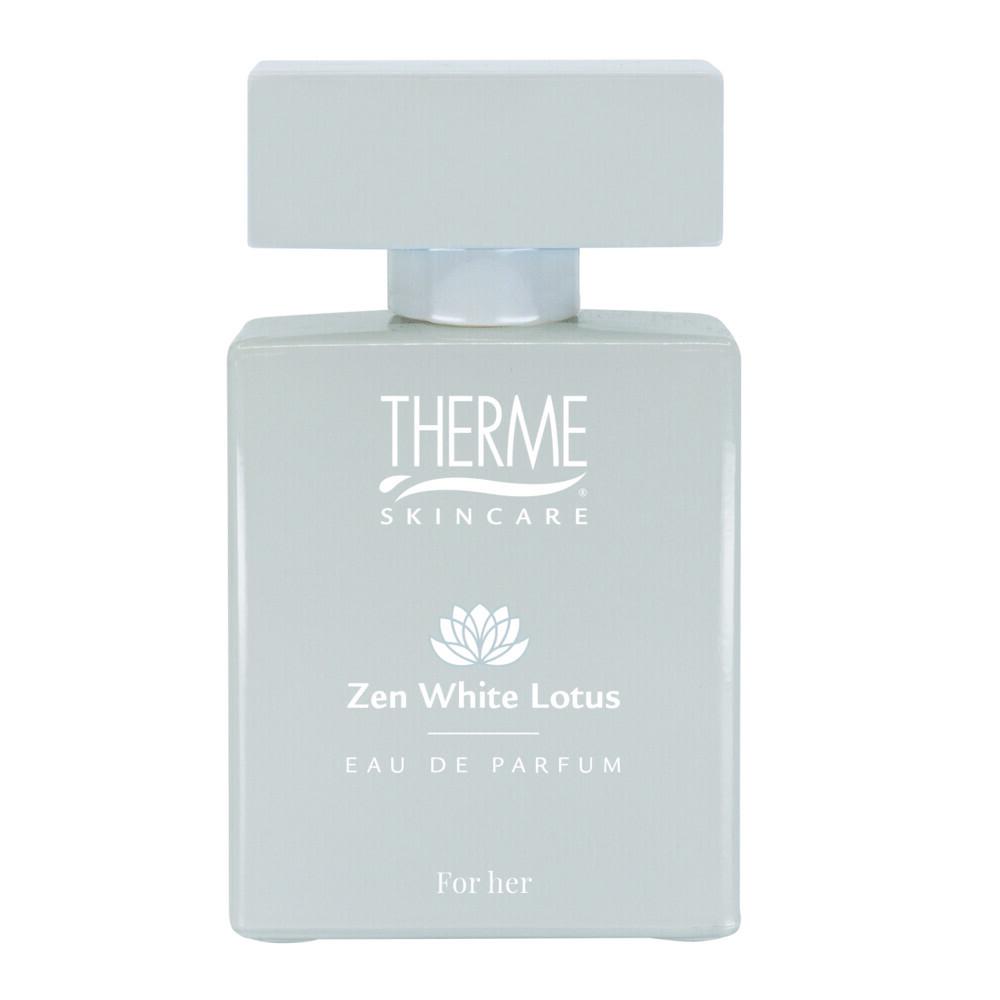 Productafbeelding van 3x Therme Eau de Parfum Zen White Lotus 30 ml