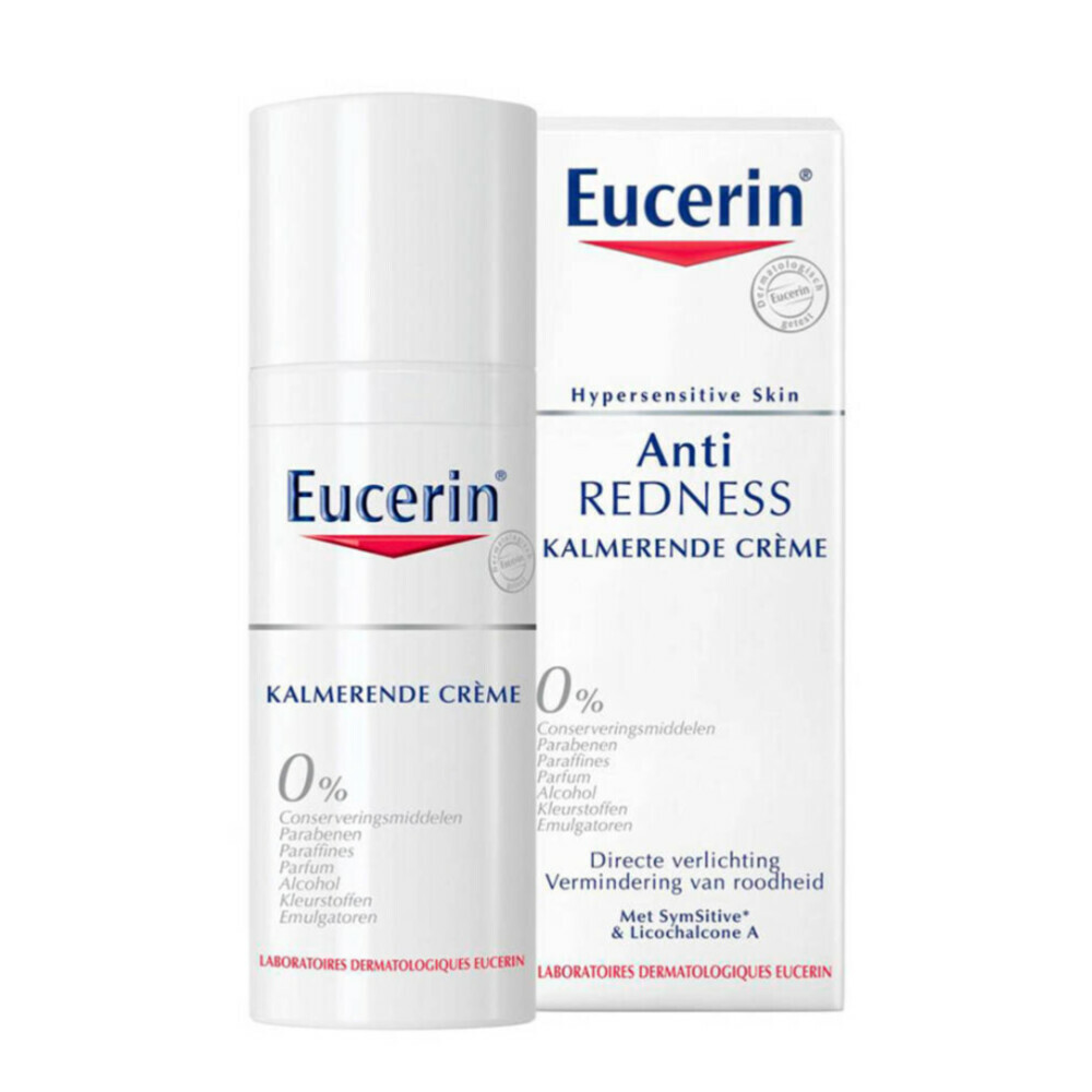 Eucerin Creme Hypersensitieve Huid Anti Roodheid Kalmerend 50 ml