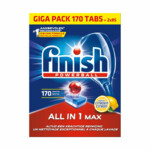 Finish Halfjaarpak Vaatwastabletten All-in-1 Max Lemon  170 stuks