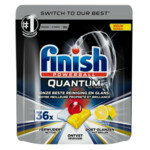 Finish Vaatwastabletten Quantum Ultimate Lemon