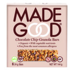 MadeGood Granola Repen Chocolate Chip  6 x 24 gr