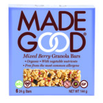 MadeGood Granola Repen Mixed Berry  6 x 24 gr