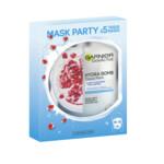 Garnier SkinActive Tissue Gezichtsmasker Hydraterend & Revitaliserend Party Box