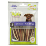 Truly Hondensnack Strips Chicken & Fish