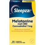 Sleepzz Melatonine Met 7 mg CBD