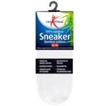 Lucovitaal Bamboe Sneakersok Wit maat 35-38