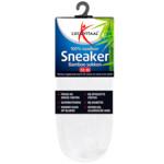 Lucovitaal Bamboe Sneakersok Wit maat 39-42