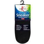 Lucovitaal Bamboe Sneakersok Zwart maat 39-42