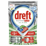 Dreft Vaatwastabletten Platinum Plus