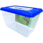 Penn Plax Fauna Box met Blauwe Deksel