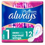 Always Maandverband Platinum Normal   12 Stuks
