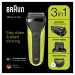 Braun Scheerapparaat Shave&Style Series 3 300BT