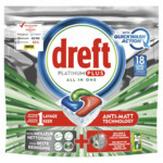 Dreft Vaatwastabletten Platinum Plus QuickWash