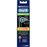 Oral-B Opzetborstels Cross Action Black Edition