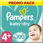 Pampers Luiers Baby Dry Maat 4+ (10-15 kg)