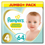 Pampers Luiers Premium Protection Jumbo pack Maat 4
