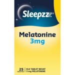 Sleepzz Melatonine 3 mg