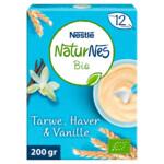 Nestle NaturNes Bio Pap Tarwe, Haver, Vanille 12+ mnd