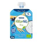 Nestle NaturNes Bio Knijpfruit 6+ mnd Banaan, Bosbes, Granen