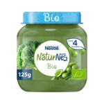 Nestle NaturNes Bio Maaltijd 4+ mnd Doperwten, Broccoli