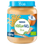 Nestle NaturNes Bio Maaltijd 8+ mnd Pastinaak, Pompoen, Volkoren Pasta, Kalkoen
