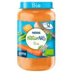 Nestle NaturNes Bio Maaltijd 12+ mnd Pastinaak, Doperwtjes, Wortel, Rijst, Zalm