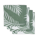 Jollein Hydrofiele Multidoek Small 70x70 cm Nature Ash Green