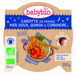 Babybio Slaap Lekker Menu 12 mnd Quinoa Groenten