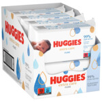 8x Huggies Billendoekjes Pure Extra Care 99% Water  56 doekjes
