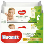 8x Huggies Billendoekjes Natural Care Extra Care