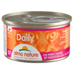 Almo Nature Dailymenu Kat Mousse Tonijn - Zalm
